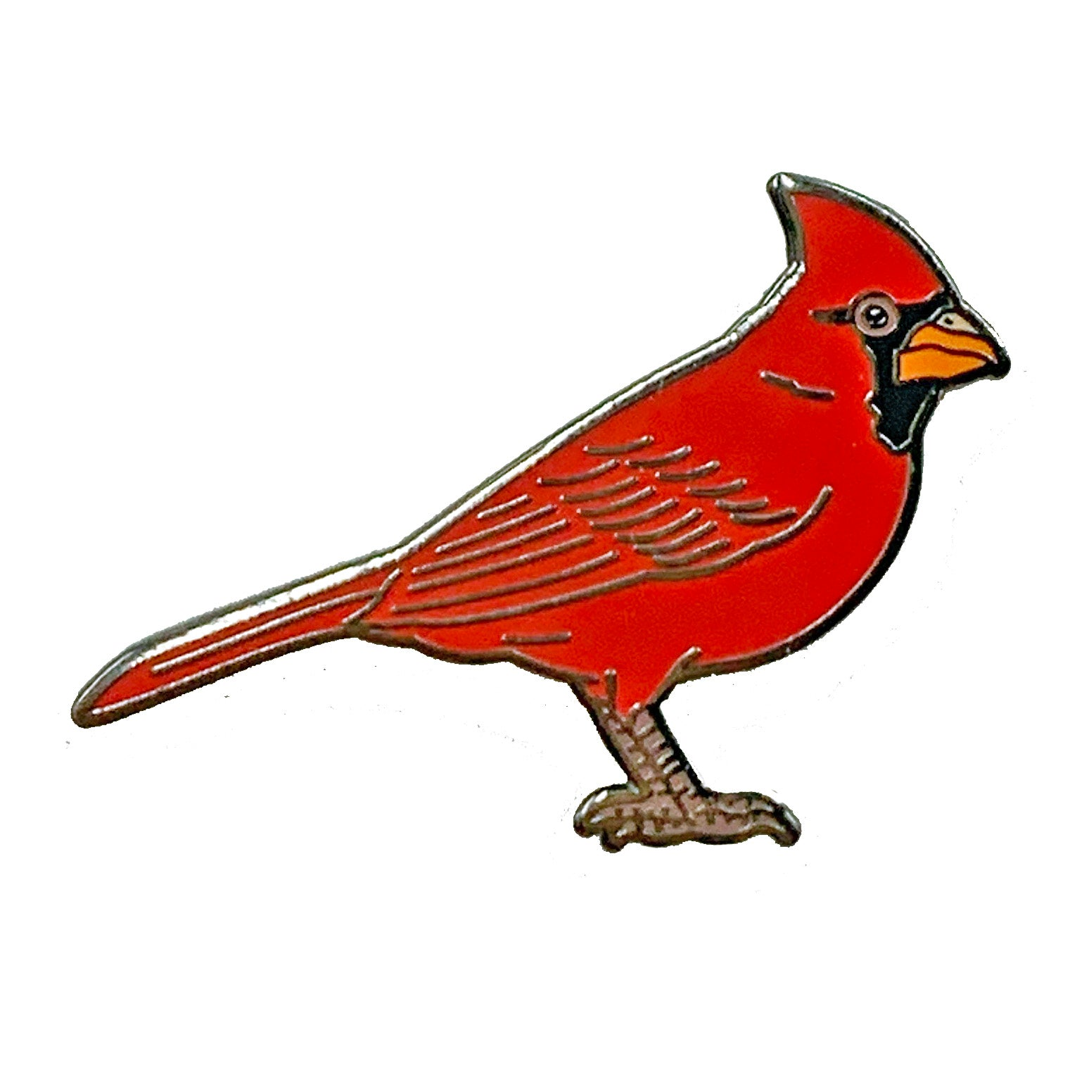Enamel Pin - Cardinal - Natural Values
