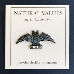 Enamel Pin - Explorer - Natural Values