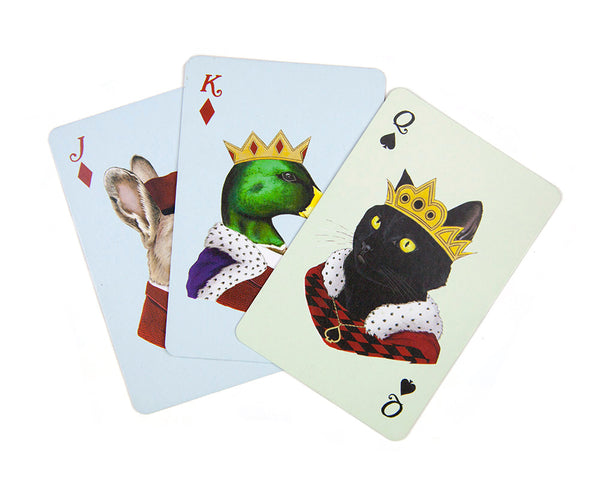 Animal Portrait Playing Cards