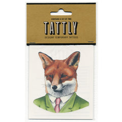 Temporary Tattoos - Fox 2-Pack