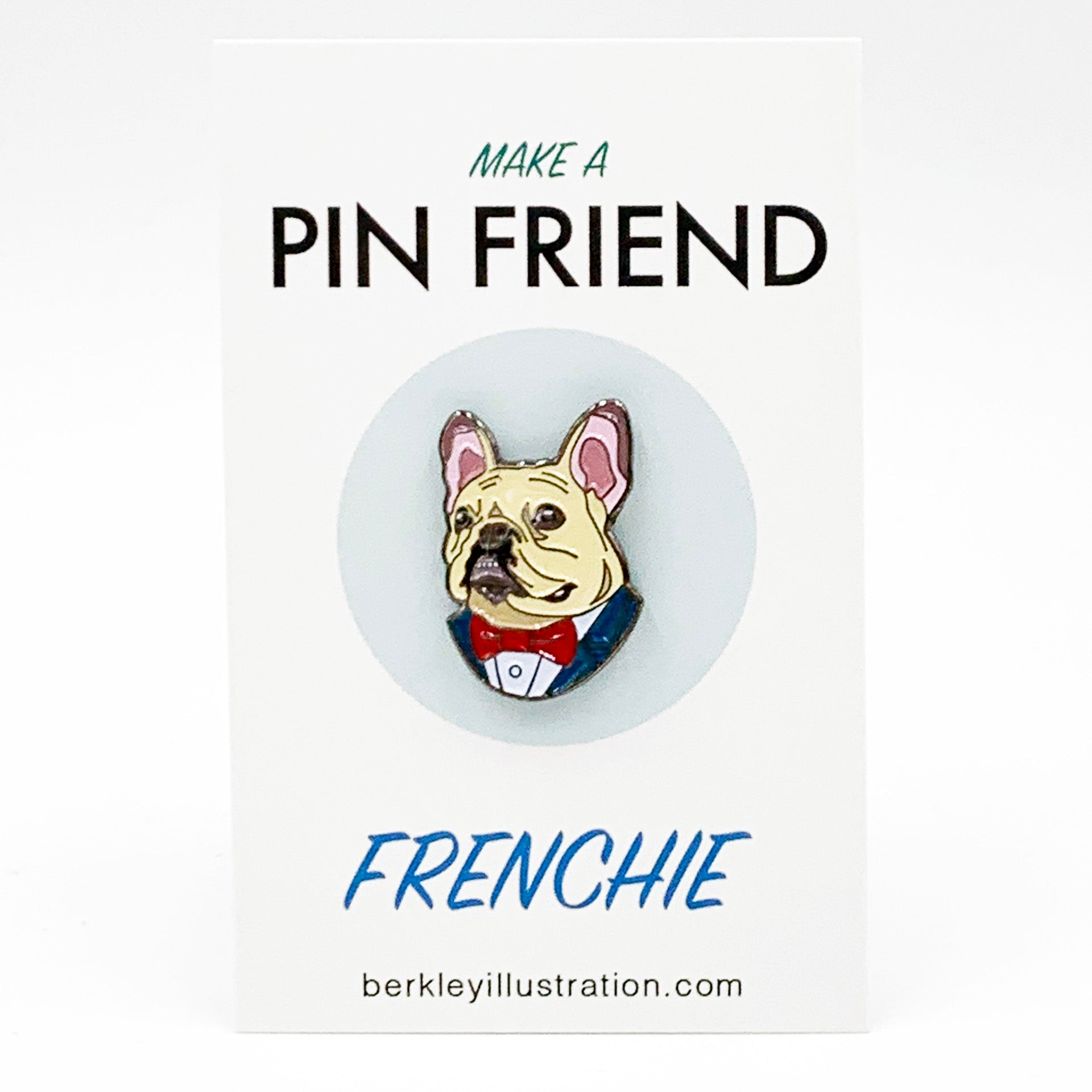 Enamel Pin - French Bulldog