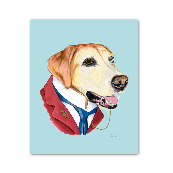 Dog Art Print - Labrador Retriever