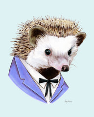 Hedgehog art print