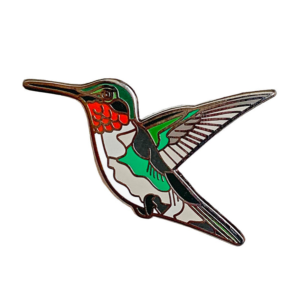 Enamel Pin - Hummingbird - Natural Values