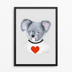 Koala Love - Limited Edition Print by Ryan Berkley