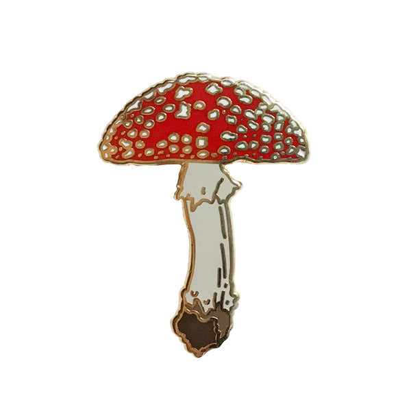 Enamel Pin - Mushroom - Natural Values