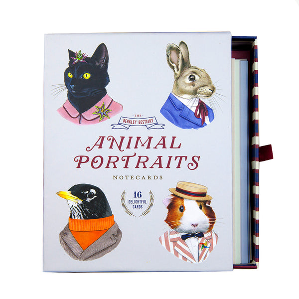 Animal Portrait Notecard Set