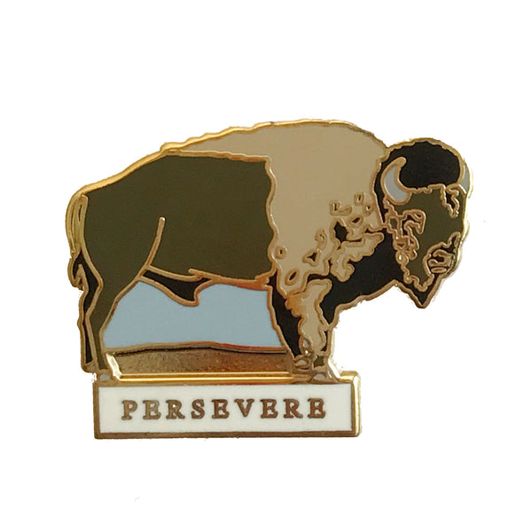 Enamel Pin - Persevere - Natural Values