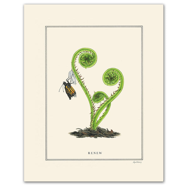 Renew - Natural Values Print