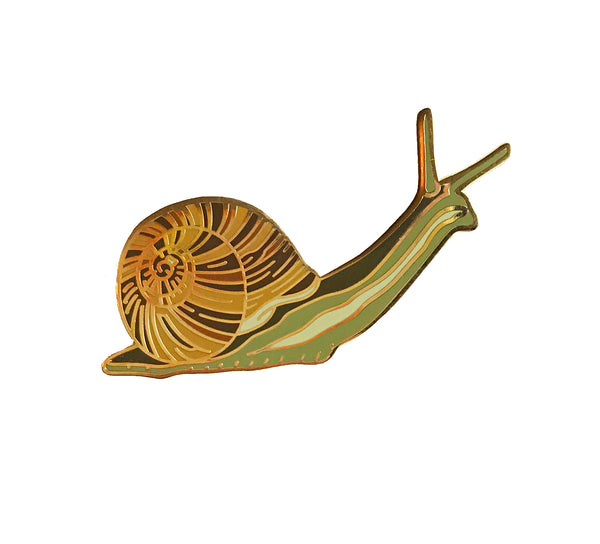 Enamel Pin - Snail - Natural Values