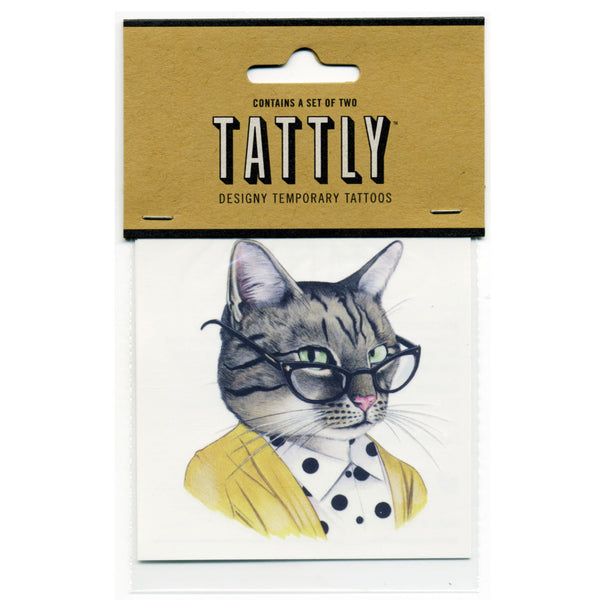 Temporary Tattoos - Tabby Cat 2-Pack