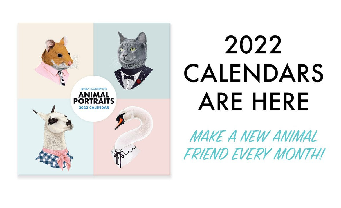 2019 wall calendar Ryan Berkley Illustration