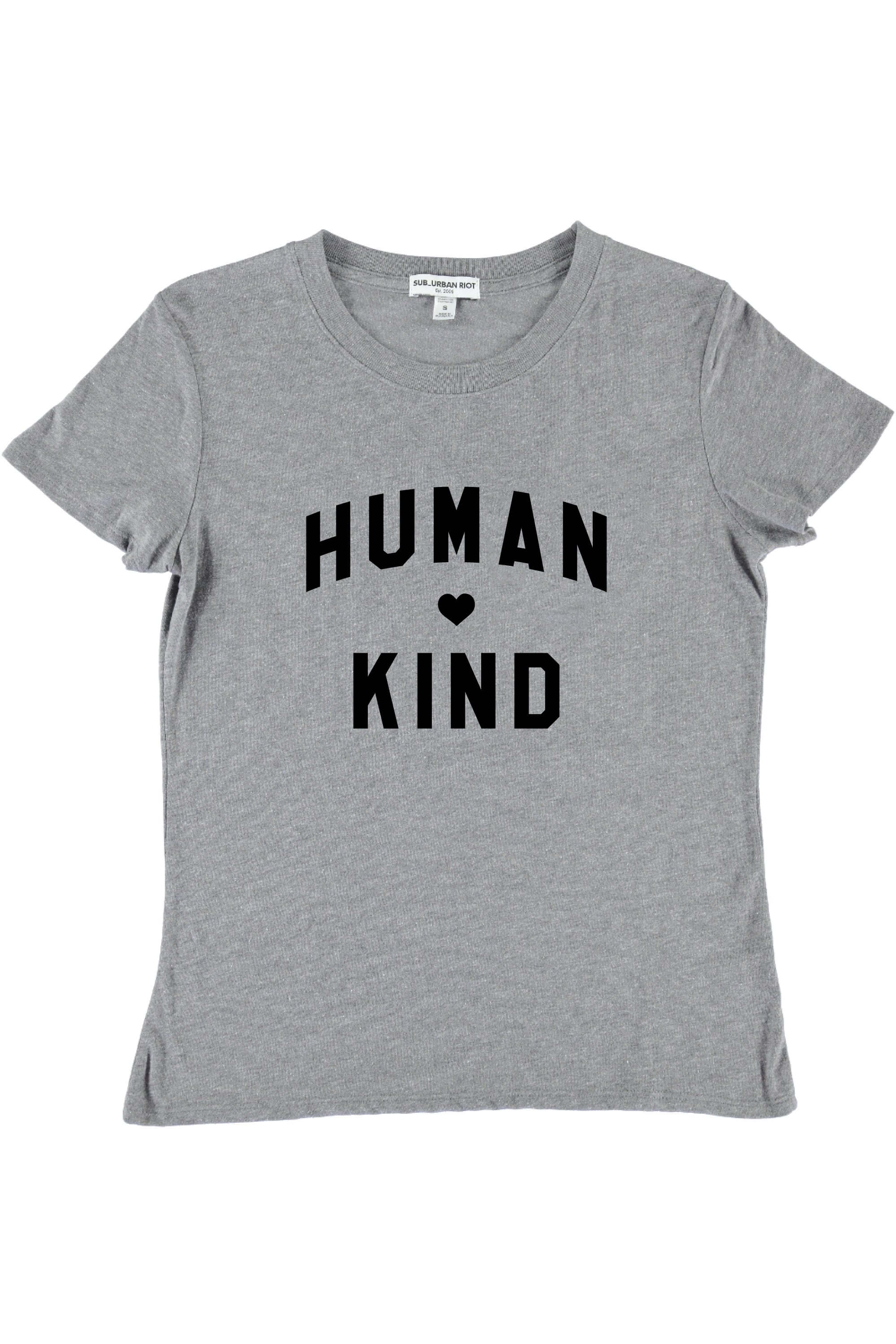 HUMANKIND YOUTH SIZE LOOSE TEE