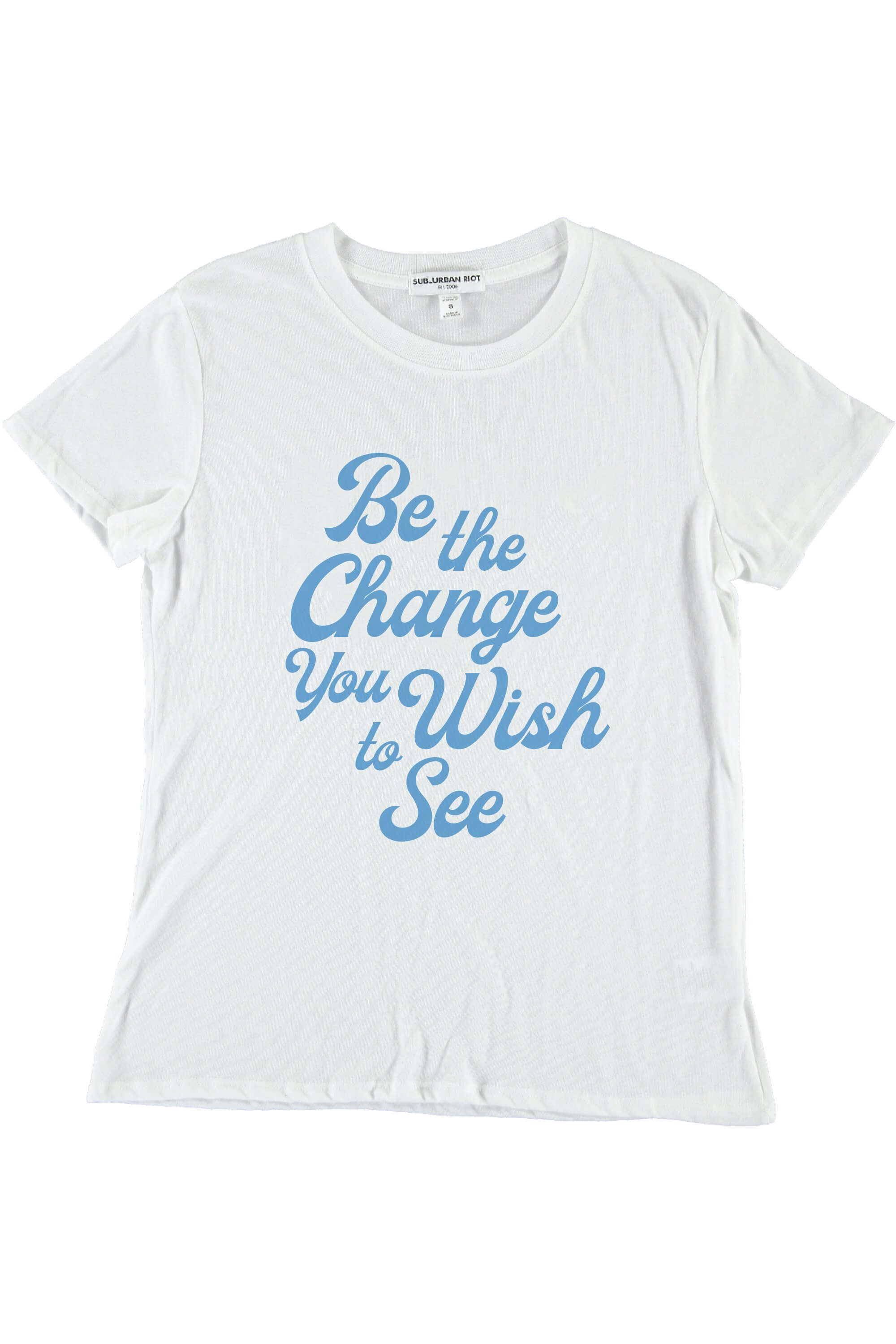 BE THE CHANGE YOUTH SIZE LOOSE TEE