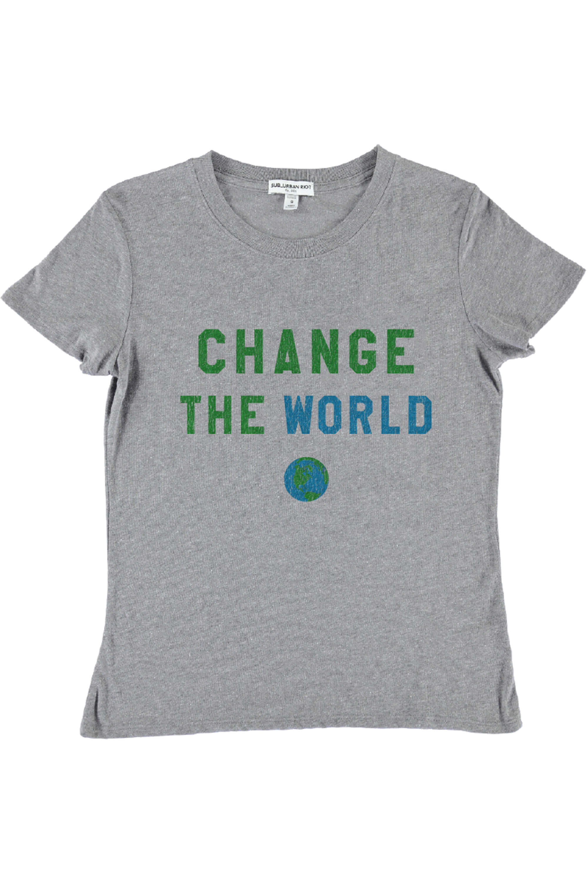 CHANGE THE WORLD YOUTH SIZE LOOSE TEE