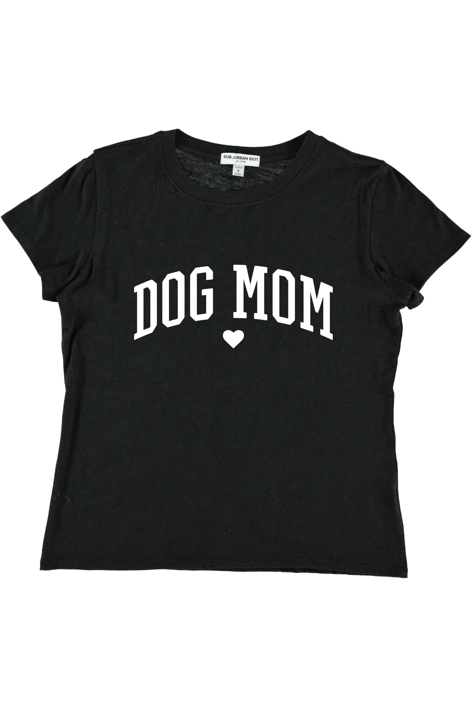 DOG MOM YOUTH SIZE LOOSE TEE