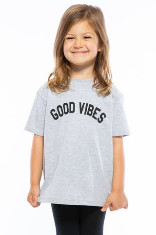 GOOD VIBES TODDLER LOOSE TEE