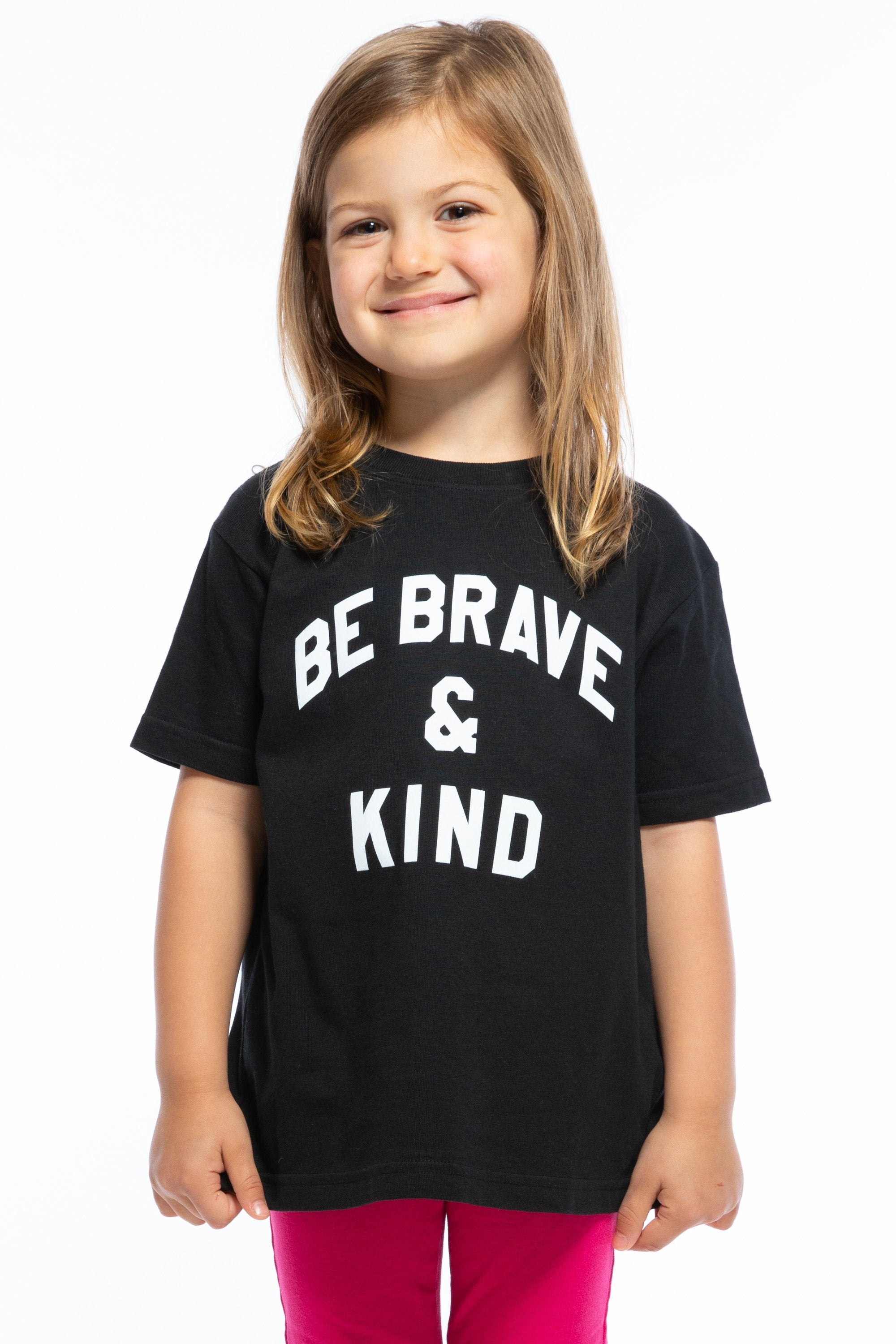 BE BRAVE AND KIND TODDLER LOOSE TEE
