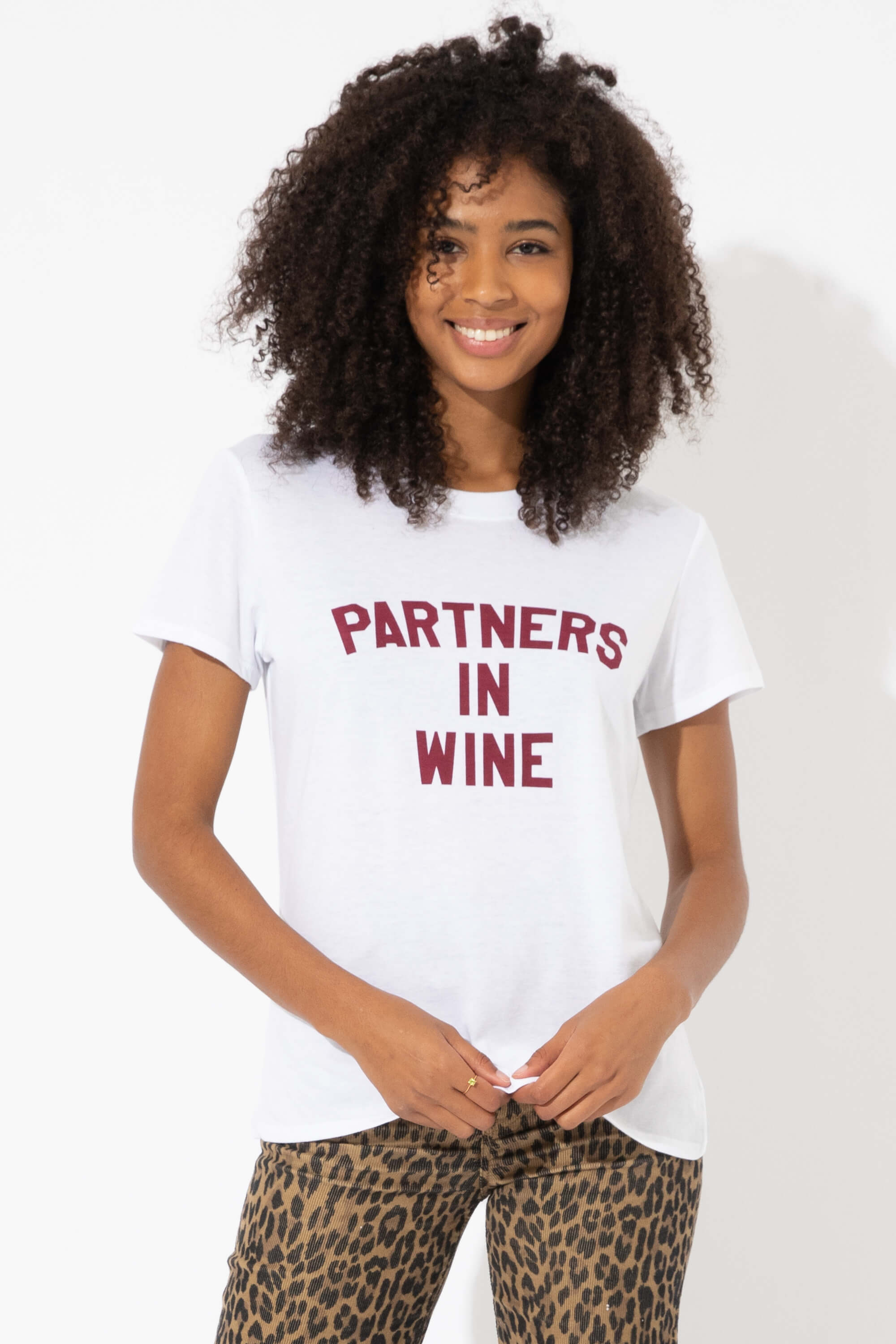 PARTNERS IN WINE LOOSE TEE