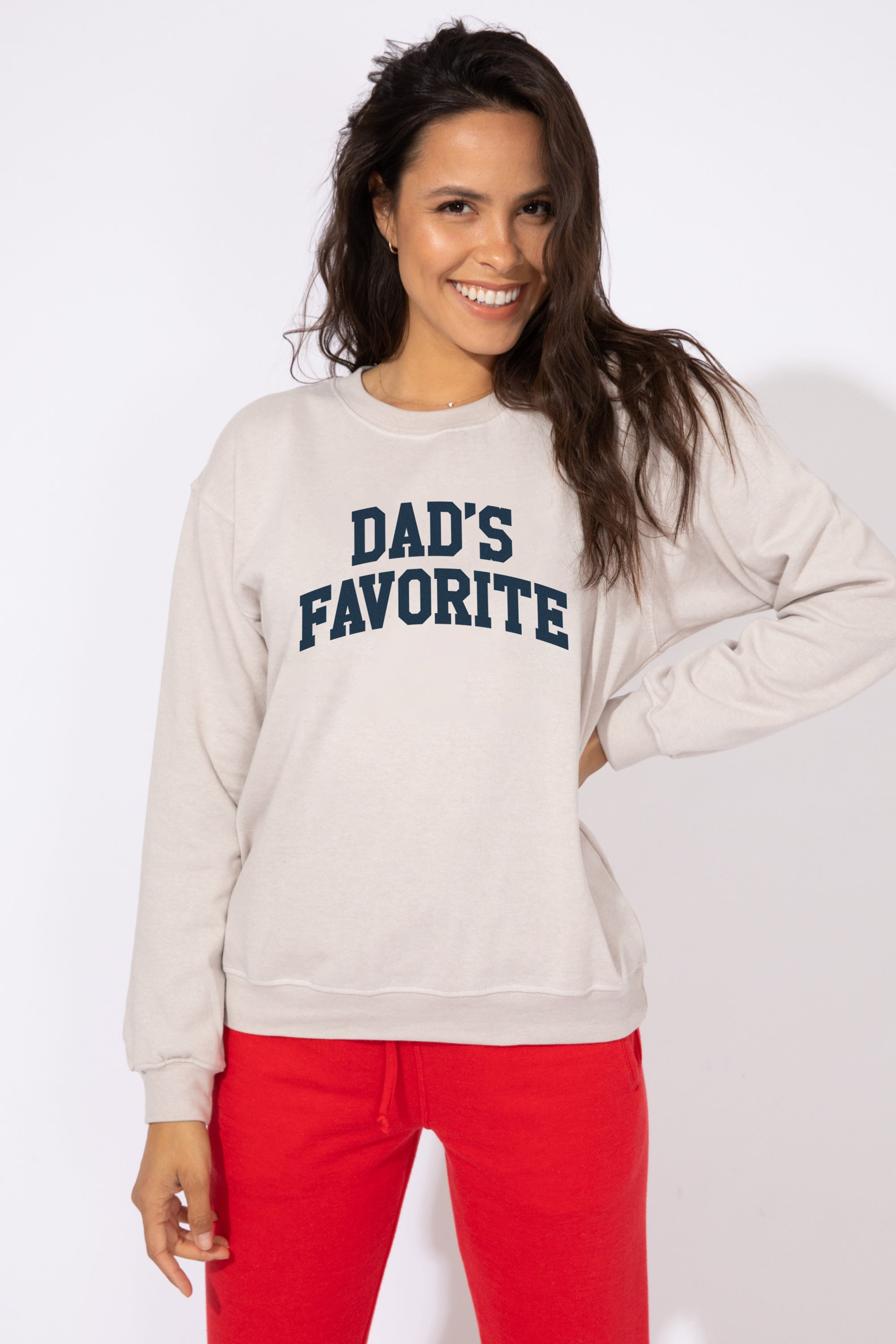 DAD'S FAVORITE WILLOW SWEATSHIRT