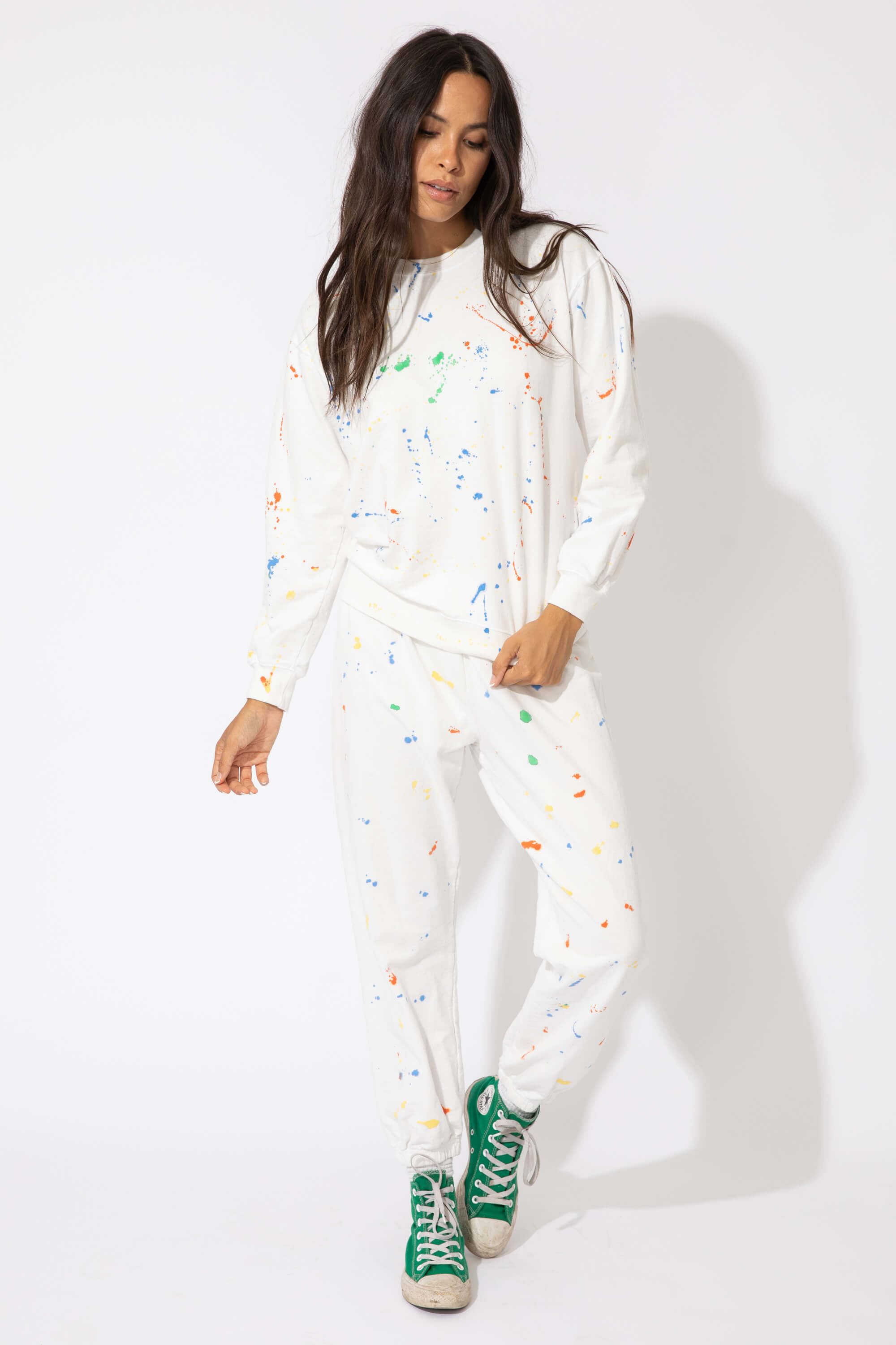 SPLATTER PAINT UNDERGRAD SWEATS