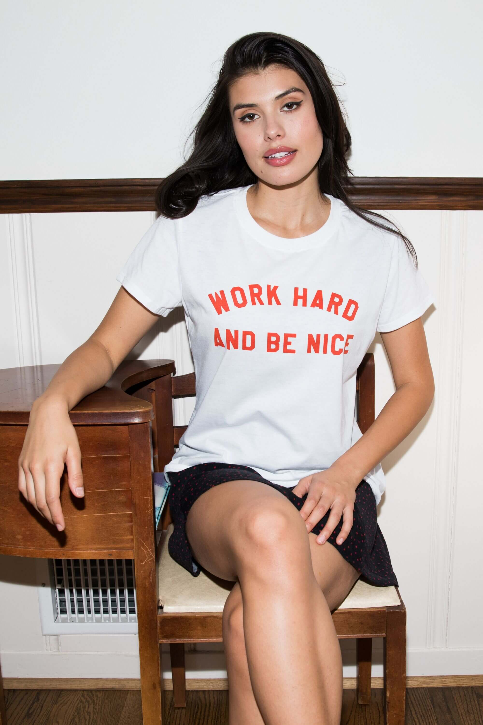 WORK HARD LOOSE TEE