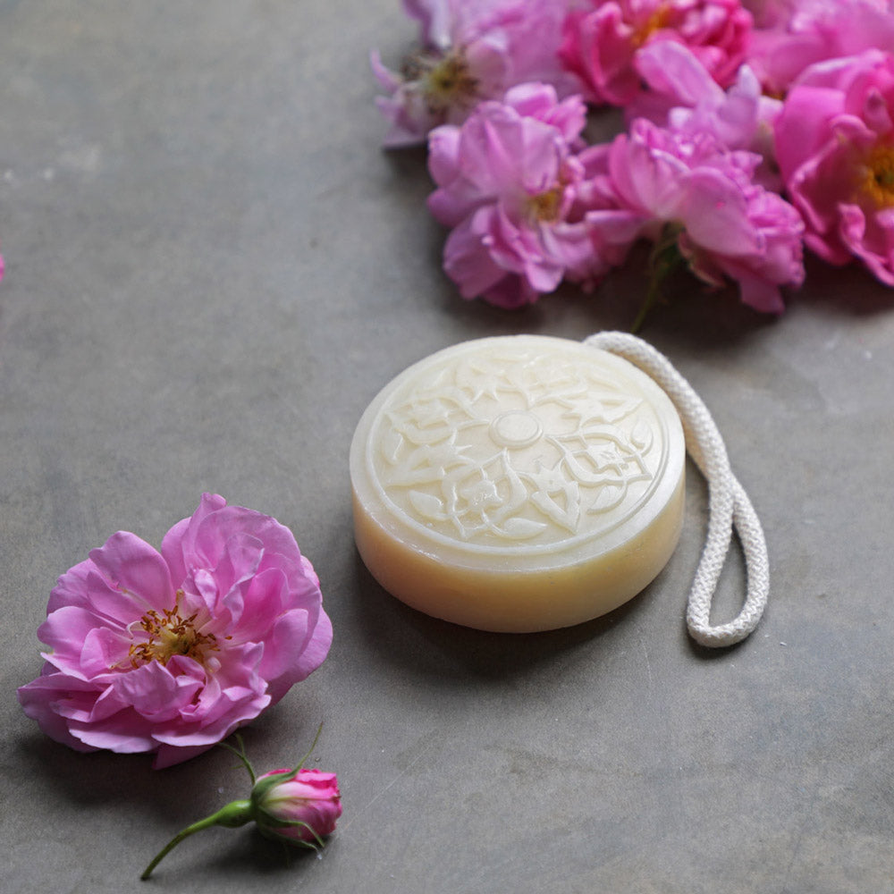 rose of damascus soap