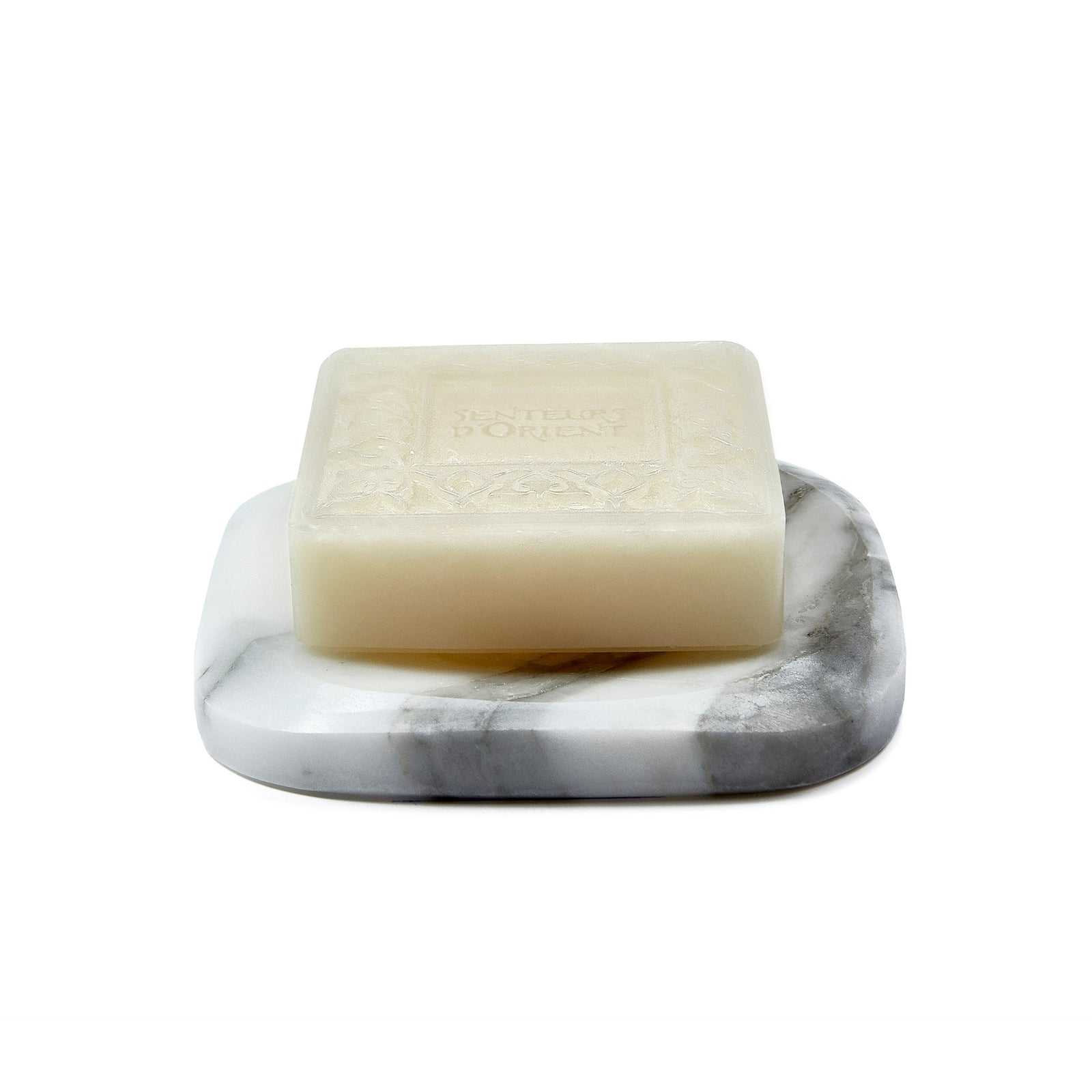 White Marble with Orange Blossom Soap
