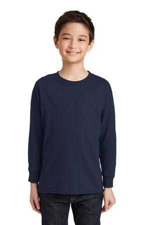 5400B / Gildan® Youth Heavy Cotton™ Long Sleeve T-Shirt.