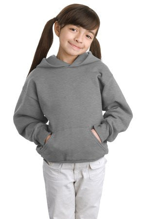 P470 / Hanes® - Youth EcoSmart® Pullover Hooded Sweatshirt.