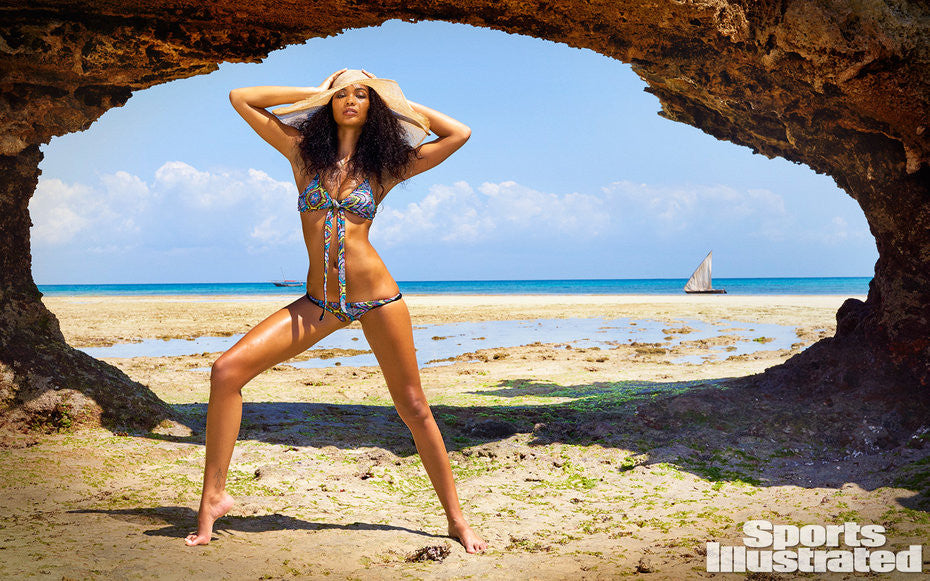 Chanel Iman Talks Travel Tips, and This Year's SI Swimsuit Issue