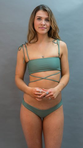 SAYULITA TUBE TOP - FOREST