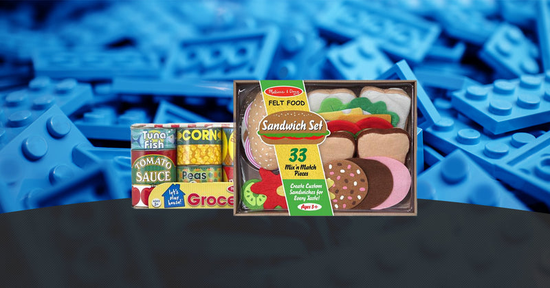 A Good Look At Many Of Our Melissa & Doug Play Food Toys At Maziply