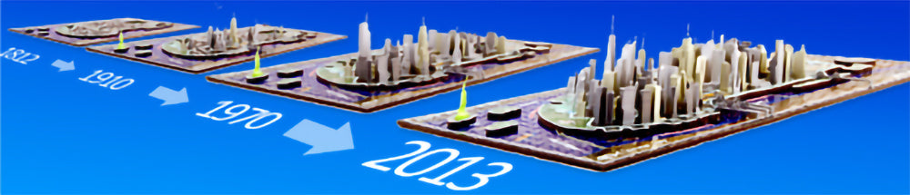 4D Cityscape - What is a 4D Puzzle and how it works.