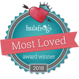 Hulafrog Best Toy Store Award at Maziply Toys
