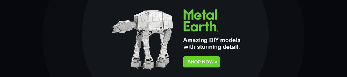 Metal Earth - Amazing DIY metal models with stunning detail.
