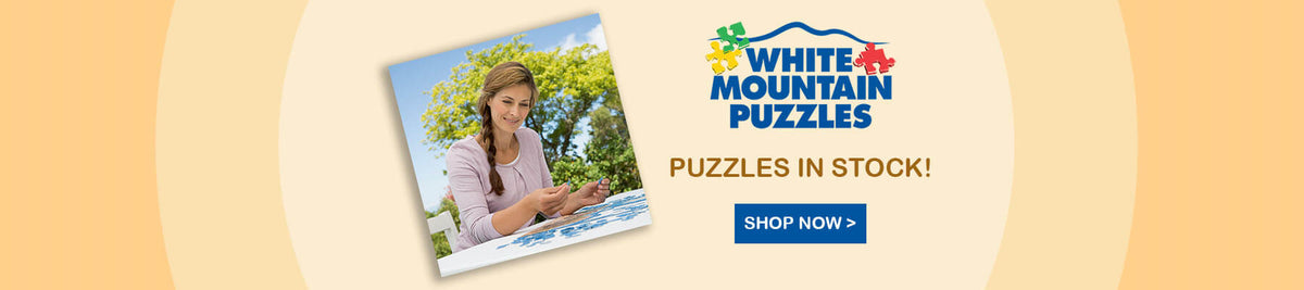 White Mountain Puzzles - Jigsaw puzzles in stock