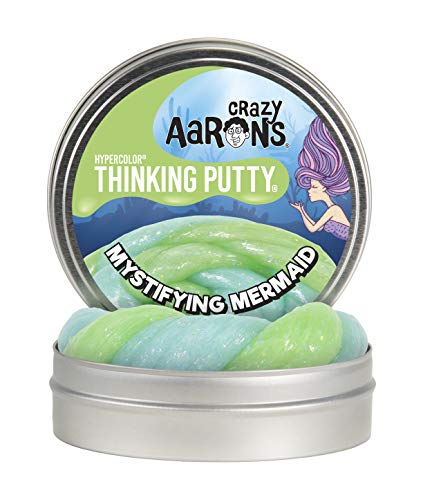 Crazy Aaron's Thinking Putty Novelty - Mystifying Mermaid - 4""
