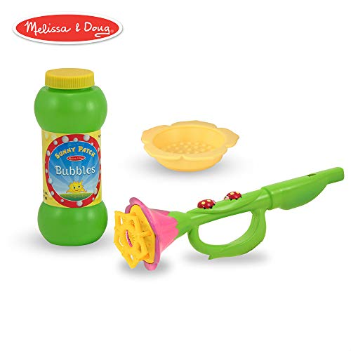 Melissa and Doug Blossom Bright Bubble Trumpet