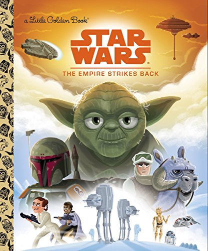 Little Golden Book Star Wars The Empire Strikes Back (Star Wars)