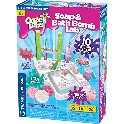 Thames and Kosmos Ooze Labs Soap & Bath Bomb Lab Science Kit