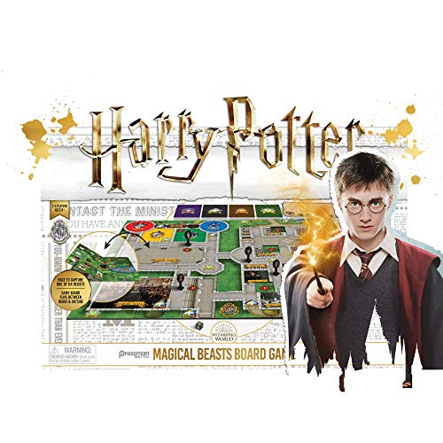 Pressman Harry Potter Magical Beasts Board Game