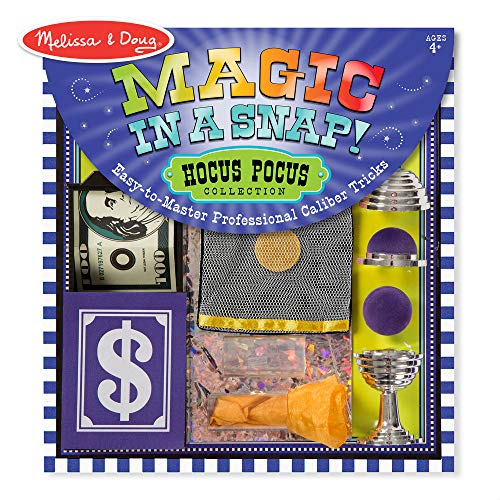 Melissa and Doug Magic in a Snap Hocus-Pocus Collection