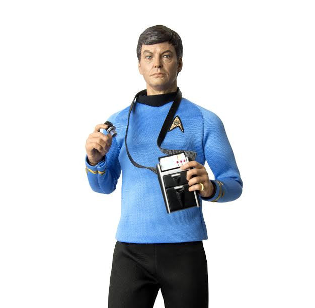 "QMx Star Trek TOS Dr. Leonard ""Bones"" McCoy 1:6 Scale Articulated Figure"