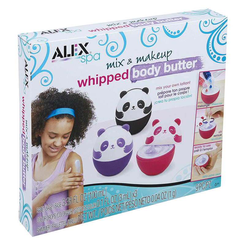 ALEX Spa Mix And Makeup Whipped Body Butter Activity Set
