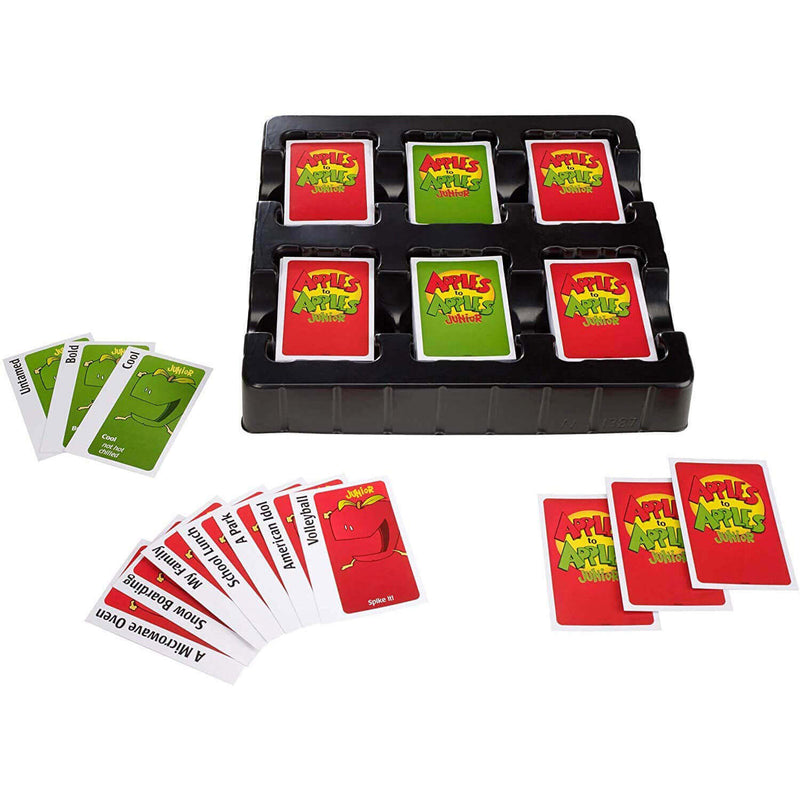 Apples to Apples Junior: The Game of Crazy Crazy Comparisons