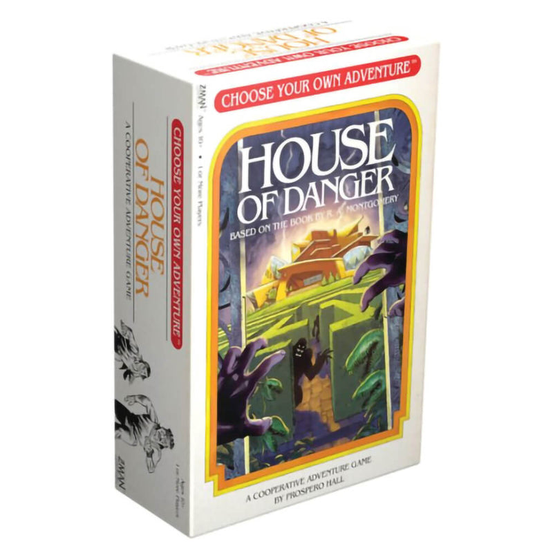 Choose Your Own Adventure House of Danger Game
