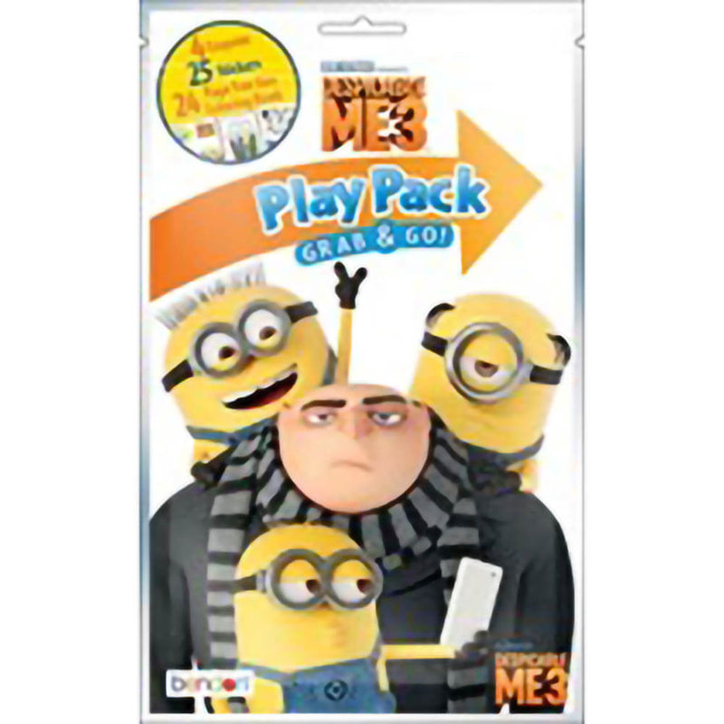 Bendon Minions The Rise of Gru Play Pack