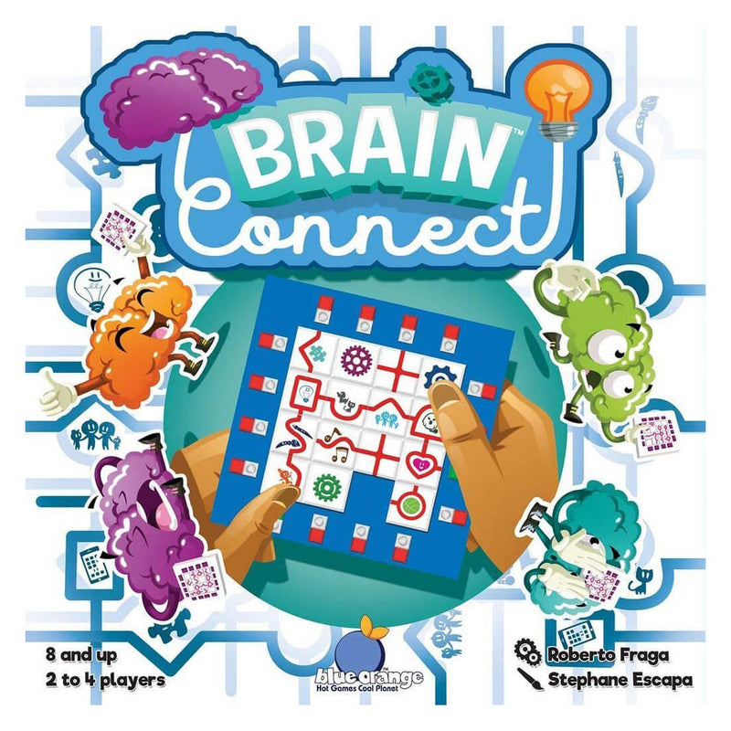 Blue Orange Brain Connect Game