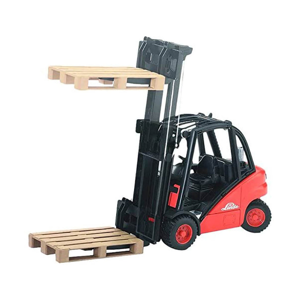 Bruder Pro Series Linde H30D Fork Lift with Pallet 1:16 Scale Vehicle